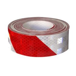 CINTA 3M REFLECT. 75 MM X 45,7M CEBRA.ROJO Y BL 45360