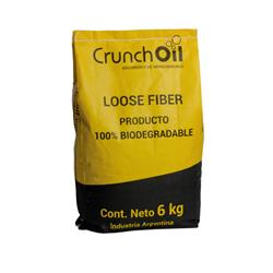 Absorbente CRUNCH OIL Loose Fiber x 6kg
